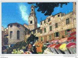 SAN  REMO (IM):   UN  ANGOLO  DEL  MERCATO  -  FG - Piazze Di Mercato