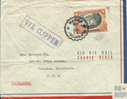 FILIPINAS, CARTA CIRCULADA A CALIFORNIA  AÑO 1940 - Filipinas