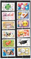 2018 - 200 - 1558 à 1569 - Emoji - Oblitéré - Frankrijk