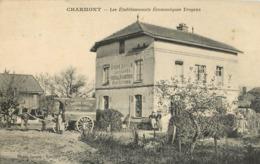 10 Charmont établissement économiques Troyens  Bonneterie Confection De Chaussures Photo Savary   Ref 1890 - Sonstige Gemeinden