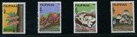 Philippines ** N° 1633 à 1636 - Champignons (8 P2) - Népal