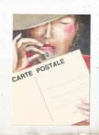 Cp, Bourses& Salons De Collections, CARTEXPO ,Paris La Défense ,1982 ,illustrateur Antoinette , Dédicacée ,2 Scans - Bourses & Salons De Collections