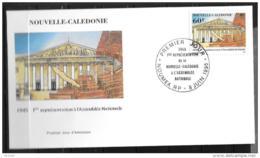 1995 - 687 - 50 Ans De Lla Première Représentation Dela N.C. à L'Assemblée Nationale - FDC
