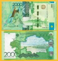 Kazakhstan 2000 Tenge P-41(1) 2012 UNC Banknote - Kazakhstán