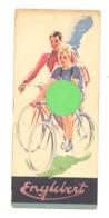 Marque-pages Publicitaire - Pneu ENGLEBERT, Vélo, Automobile,... (B260) - Marque-Pages