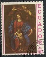 Equateur - Ecuador 1967 Y&T N°778 - Michel N°1336 (o) - 10c Congrès Eucharistique - Equateur