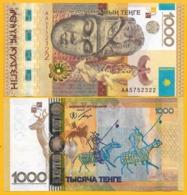 Kazakhstan 1000 Tenge P-44 2013 Commemorative UNC Banknote - Kazakhstán