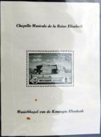 BELGIQUE BELGIEN Bloc 13 ** MNH Chapelle Musicale De La Reine Elisabeth (CV 11 €) [GR] - Blocs 1924-1960