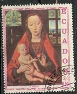 Equateur - Ecuador 1967 Y&T N°779 - Michel N°1337 (o) - 40c Congrès Eucharistique - Equateur