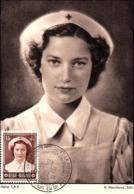 Carte Maximum Croix Rouge 14/03/1953 Princesse Joséphine-Charlotte N° 913 - Maximumkarten (MC)
