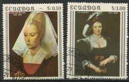 Equateur - Ecuador 1967 Y&T N°793 à 794 - Michel N°1362 à 1363 (o) - Portraits De Femme - Equateur