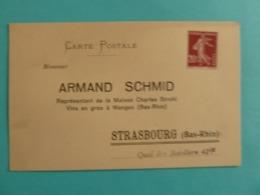 CARTE POSTALE ARMAND SCHMID VINS - Händler