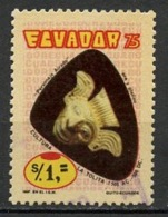Equateur - Ecuador 1975 Y&T N°958 - Michel N°(?) (o) - 1s Masque - Equateur