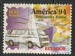 Equateur - Ecuador 1994 Y&T N°1317 - Michel N°2284 Nsg - 600s Transport Postal - Equateur