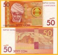 Kyrgyzstan 50 Som P-25 2009 UNC - Kirgisistan