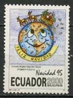 Equateur - Ecuador 1995 Y&T N°1335 - Michel N°(?) Nsg - 2000s Noël - Equateur