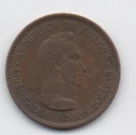 Bolivie : 10 Bolivianos = 1 Bolivar 1951 - Bolivie