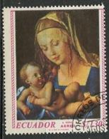 Equateur - Ecuador Poste Aérienne 1967 Y&T N°PA482 - Michel N°1346 (o) - 1,30s Congrès Eucharistique - Equateur