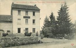 63 Le Vauriat Hôtel Des Touristes Felix Saucouly Propriétaire  Ref 1897 - Frankreich