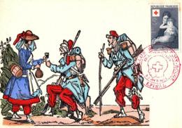 (9-67)   Carte Foire Expo 02/03/04/1955 N° Timbre 1006 - 1950-59