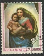 Equateur - Ecuador Poste Aérienne 1967 Y&T N°PA485 - Michel N°1349 (o) - 2,50s Congrès Eucharistique - Equateur