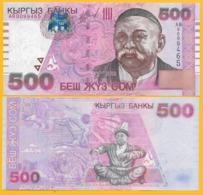 Kyrgyzstan 500 Som P-17 2000 UNC Banknote - Kirgisistan