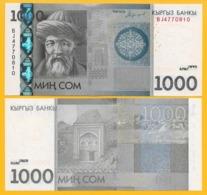 Kyrgyzstan 1000 Som P-29 2016 UNC Banknote - Kirghizistan