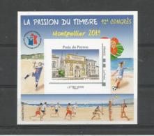 Bloc FFAP MONTPELLIER 2019 (N°16) Porte Du Peyrou. 92ème Congrès. - FFAP