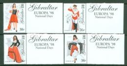 Gibraltar: 1998   Europa - Festivals. National Day  MNH - Gibraltar