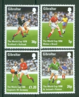 Gibraltar: 1998   World Cup Soccer, France   MNH - Gibilterra