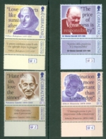 Gibraltar: 1998   Famous Quotations (with Labels) MNH - Gibraltar