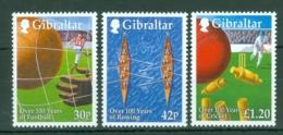 Gibraltar: 1999   Local Sporting Centenaries   MNH - Gibilterra