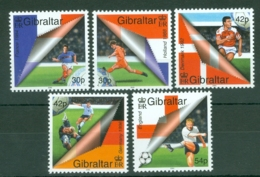 Gibraltar: 2000   European Football Championships, Netherlands   MNH - Gibilterra