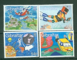 Gibraltar: 2000   Stampin The Future - Children's Competition   MNH - Gibraltar