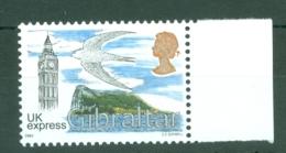 Gibraltar: 2003   Big Ben, Swift, Rock Of Gibraltar - UK Express (£3)  MNH - Gibraltar