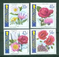 Gibraltar: 2003   Enlargement Of E.U. - Flowers  MNH - Gibilterra