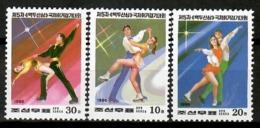 Korea North 1996 Corea / Figure Skating MNH Patinaje Artístico / Cu13030  38-36 - Patinaje Artístico