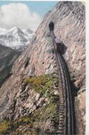 AK 0319  Pilatusbahn - Eselwand Und Berneralpen Um 1920 - Eisenbahnen