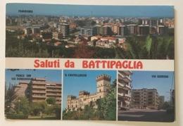 SALUTI DA BATTIPAGLIA - VEDUTE  VIAGGIATA FG - Battipaglia
