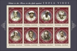 Sierra  Leone  2015  The Heroes  In The Fight Against Ebola Virus - Sierra Leone (1961-...)