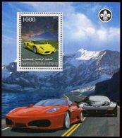 AUTOMOBILES - FERRARI - 1 BLOC FEUILLET DE 1 VIGNETTE NEUVE ** - Cars