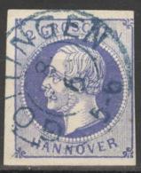 Hannover 15 O Zweikreisstempel Göttingen - Hanover