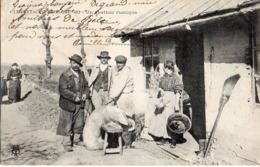 15) Le Cantal Pittoresque 83 Un Abattoir Rustique, Cochon (envoi De Dienne Vers Metlaoui Tunisie 1910 - Frankrijk