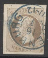 Hannover 19 O Zweikreisstempel Nienburg - Hanover