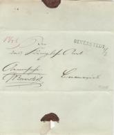 Altbrief Von Beverstedt Nach Bremervörde Langstempel Beverstedt Um 1828 - Hanovre