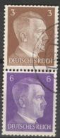Deutsches Reich Zusammendruck S274 O - Zusammendrucke
