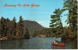 Canoeing On Lake George - U.S.postcard - Other