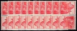 10x Switzerland Suisse Schweiz 1939, Landscapes As Inverted Pairs (tête-bêche) (MNH, **) - Stamps
