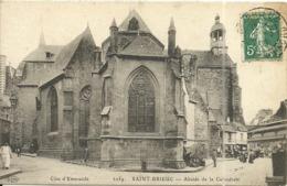 ( SAINT BRIEUC   )( 22 COTES DU NORD ) ABSIDE DE LA CATHEDRALE - Saint-Brieuc