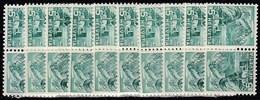 10x Switzerland Suisse Schweiz 1937, Landscapes As Inverted Pairs (tête-bêche) (MNH, **) - Stamps